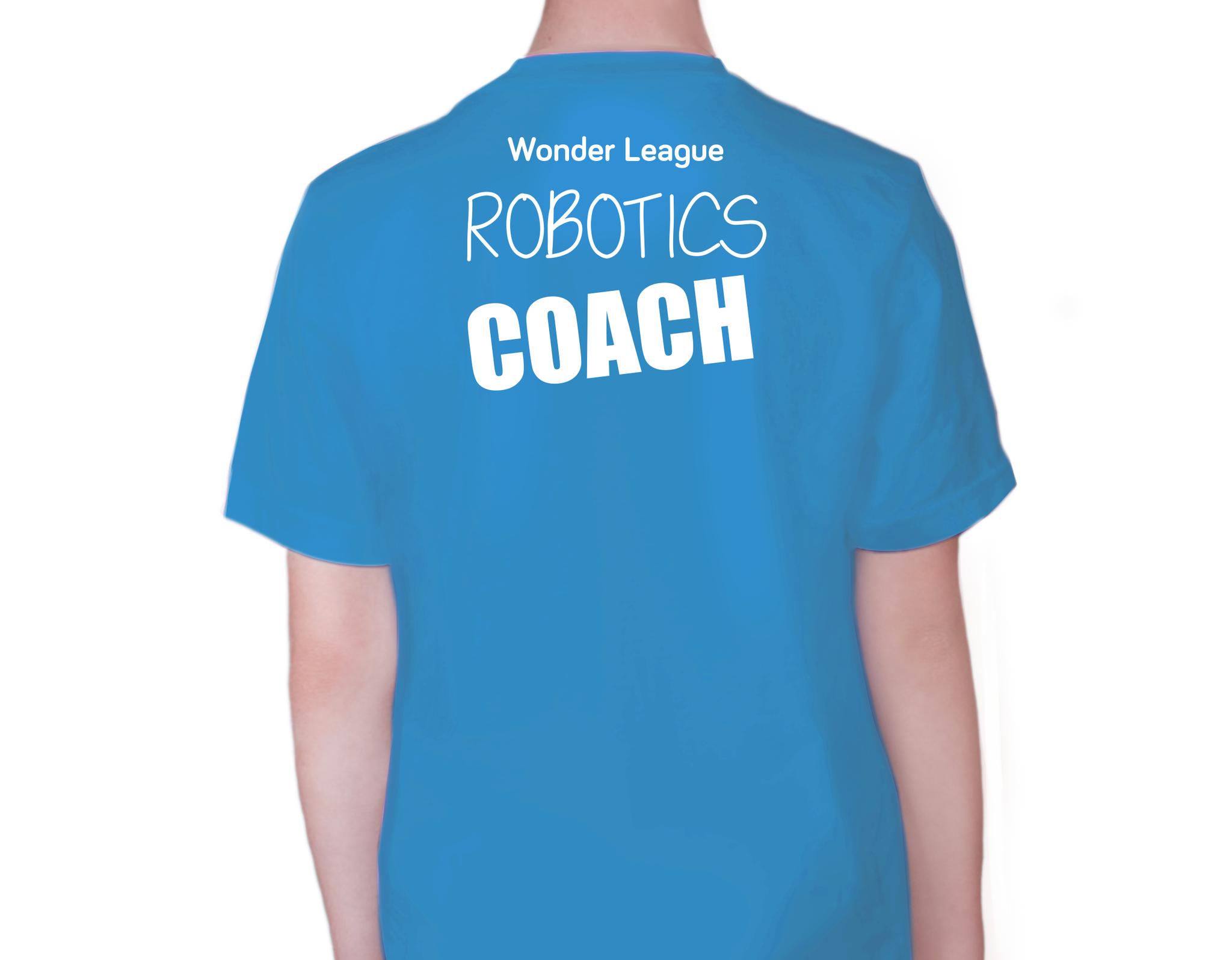 Wonder League Club T Shirt Logics Academy